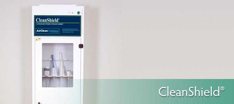 CleanShield Ultrasound Probe Storage Cabinet