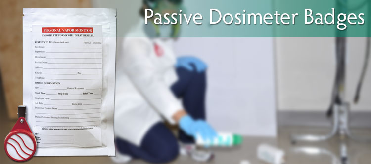 Passive Dosimeter Badges