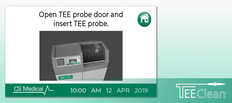 TEEClean Automated TEE Probe Cleaner Disinfector