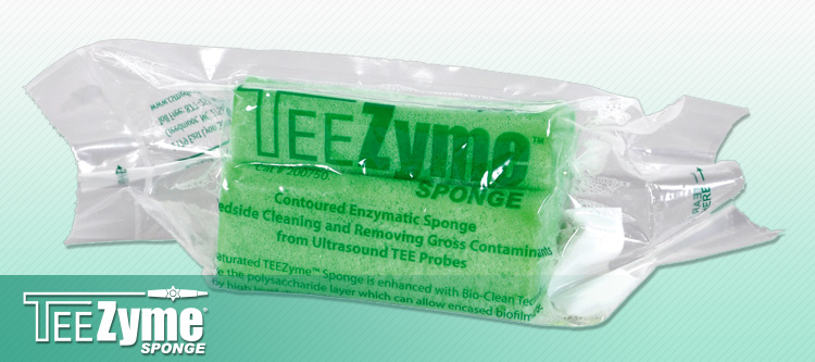TEEZyme TEE Probe Enzymatic Sponge