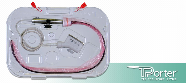 TPorter TEE Ultrasound Probe Transportation Case