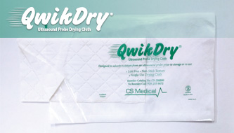QwikDry - Ultrasound Probe Drying Cloth
