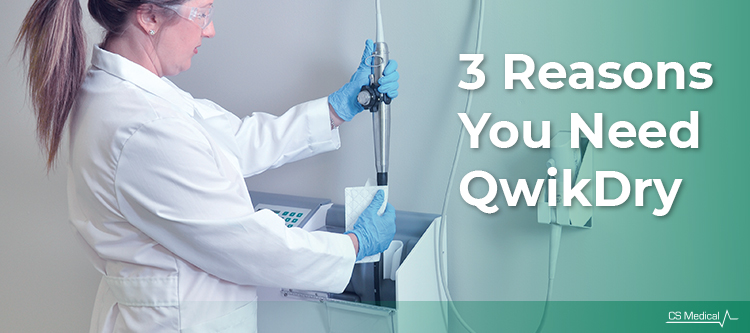 3 Reasons Why You Need QwikDry