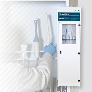 Cleanshield Ultrasound Probe Storage Cabinet
