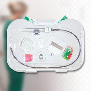 TPorter Tee Ultrasound Probe Procedure Case