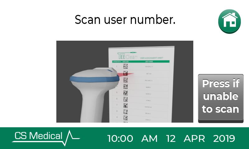 TEEClean scan user